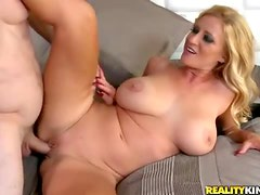 Heavily pierced blonde with huge tits ravaged raw