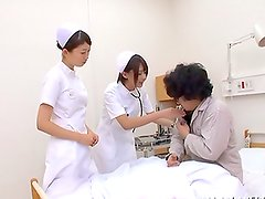 Lovely nurse Shunka Ayami makes the patient's desires come true
