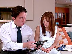 Beautiful Yuna Mizumoto gets pounded from behind