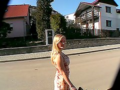 Countryside Fuck with Lovely Blonde Amateur Babe in POV
