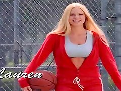 Lauren Anderson gets naked after a basketball game