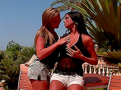 Ashley Bulgari and Natalia Forrest Turning  Up the Heat on a Summer DAy