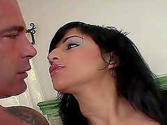 Avy Lee Roth the lovely Latin girl gets banged in her mouth
