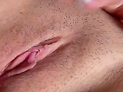 Stunning Valarie Vazquez toys her pussy with big dildo
