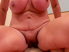 Amazing POV Action and Cock Ride by an Insatiable Granny