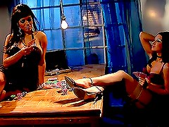 Ann Marie Rios And Alexis Amore lciking each others pussies
