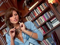 A Kinky Solo Scene With The Naughty Librarian Lexi Ray