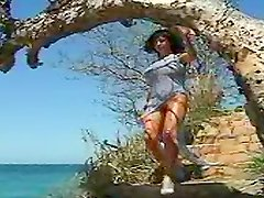 An Unforgettable Walk On The Beach With The Hot Erika Michelle Barre