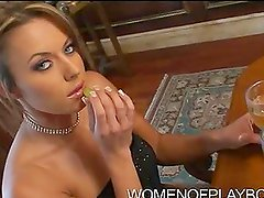 Naughty Rich Blonde Stephanie Loren Makes it Sexy