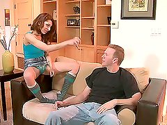 Sexy Lexy Bloom getting fucked by her father
