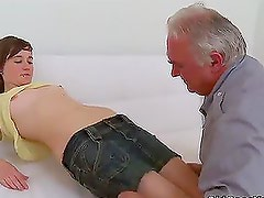Lovely babe Inna suck and fucks two hard cock