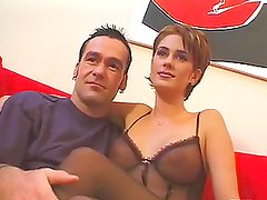 Inari Vachs sucks Mark Anthony's BBC in the car and enjoys riding it