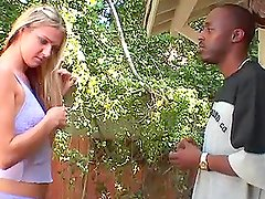 Lovely Ashley Long gets her tight ass fucked by big black cock