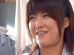 Kyoka Mizusawa gets her snatch drilled hard in the office