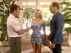 Silvia Saint the sexy blonde babe getting threesomed