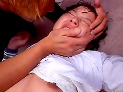 Arisa Shiroi gets her pussy shaved and mercilessly drilled