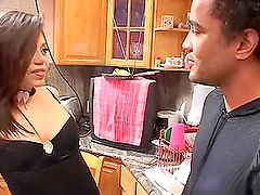 Luccia Reyes fucks an Asian dude and gets a creampie