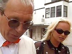 Silvia Saint the slutty blonde babe gets her ass drilled