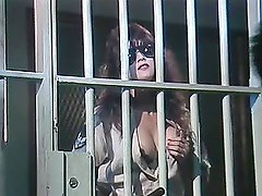 Sexy police officer Rebecca Steele fucks sly prisoner Wayne Summers