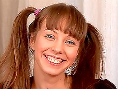 Take a look at this teen babe named Nataliy playing solo