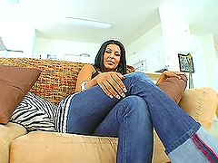 Hot Latina milf moans of pleasure during the hottest fuck in her life