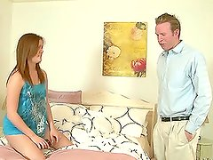 Tammy Tyler the sexy teen babe gets fucked by her father