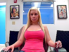 Whitney Taylor is interviewed in a different sexy way