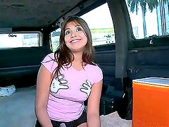 Vaquera - Banging van is desperately looking for hot chicks to fuck