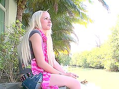 Alexia's unforgettable debut in amazing sex video
