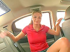 It's crazy to get a handjob from Nikki in the car