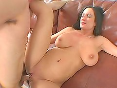 Brunette With Big Titties And Shaved Pussy Is The Best Fuck Ever!