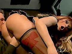 Katja Kassin is having hot anal sex with fingering and facial cumshot