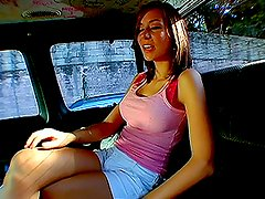 Banging van calls for hot babes who eager to fuck for money