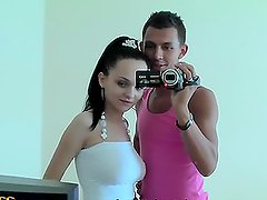 Young couple have hardcore sex in hotel room in Turkey