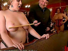 Having Fun with Busty Submissive Girls in Crazy BDSM Party