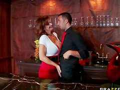 Deauxma fucked by younger cock