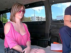 Hottie Does Anal in the Car and Loves It!