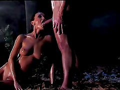 Brunette Gets Kidnapped & Fucked In The Forest