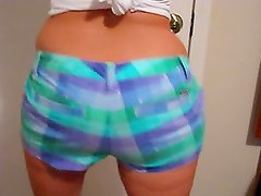 Watch Roxy's Bum Bounce Up And Down.