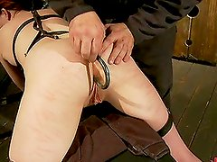 Cute Redhead Dominated, Disciplined & Destroyed