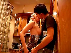 Hot Bubble But Teen Amateur Lida and Aleksandr Fucking