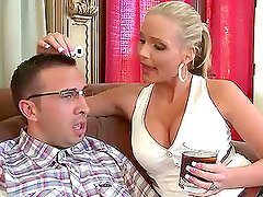 Your mom's hot ass loves my nerd cock with Phoenix Marie.