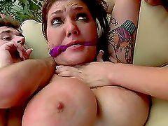 Anal Destruction and Throat Fucking Plus Face Sitting for Police Officer