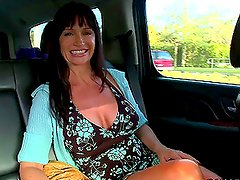 Lustful Euro MILF Having Sex and Sucking Cock Outdoors and Indoors