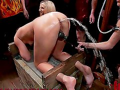 Hardcore Insertion BDSM Party