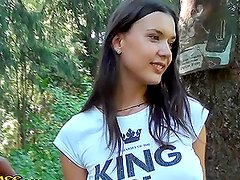 Hot College Girls Getting Drunk and Horny in the Woods