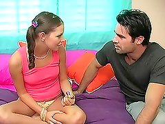 Teen Missy Stone Getting a Rough Anal Fuck
