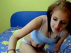 Kinky Teen Loves Toying With Her Pussy