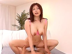 Sexy Threesome With a Busty Japanese MILF