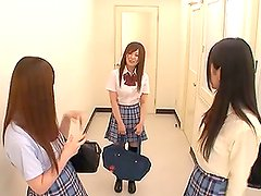 Cute Japanese Schoolgirl Tricked into a Classroom Fuck